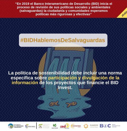 banco_interamericano_de_desarrollo_politica_sostenibilidad_salvaguardas_participacion_divulgacion_acceso_informacion_financiamiento